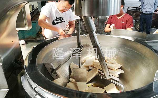 炒火锅底料搅拌机设备
